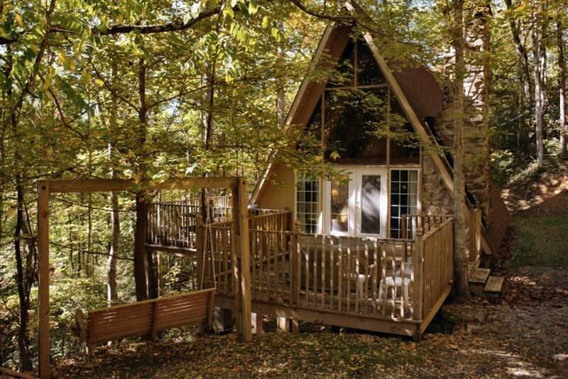 Fairview 2 Bedroom Cabin In Gatlinburg Diamond Mountain Rentals